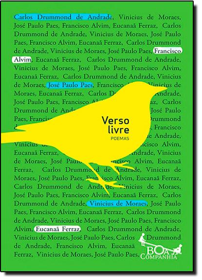 Verso Livre: Poemas, livro de Carlos Drummond de Andrade