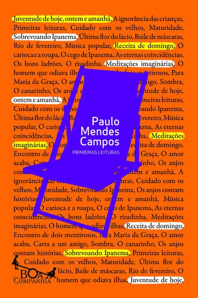 Primeiras Leituras, livro de Paulo Mendes Campos