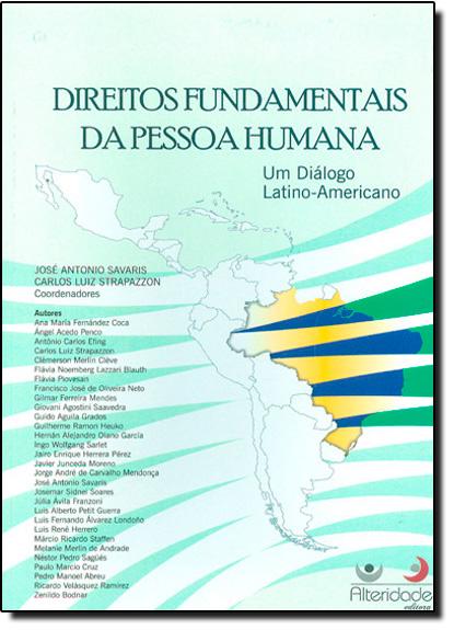 Direitos Fundamentais da Pessoa Humanas, livro de José Antonio Savaris