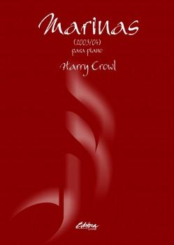 Marinas (2003/04). Para piano, livro de Harry Crowl
