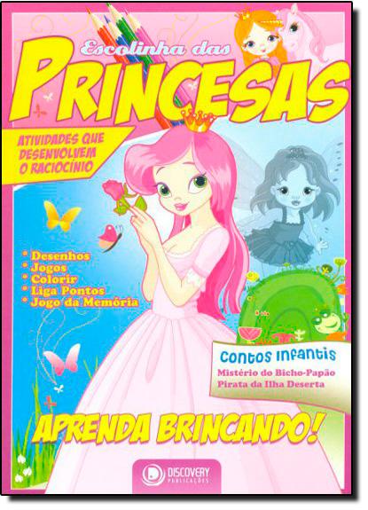 Escolinha das Princesas, livro de DISCOVERY
