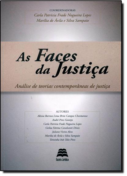 Faces da Justiça, As, livro de Alessia Barroso Lima Brito Campos Chevitaresse