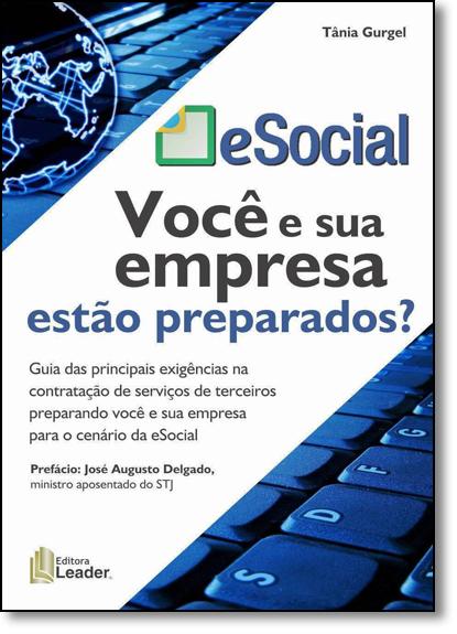 Esocial: Você e Sua Empresa Estão Preparados?, livro de Tânia Gurgel