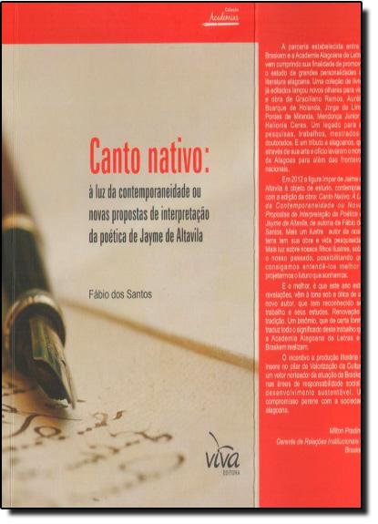 Canto Nativo, livro de Fabio dos Santos