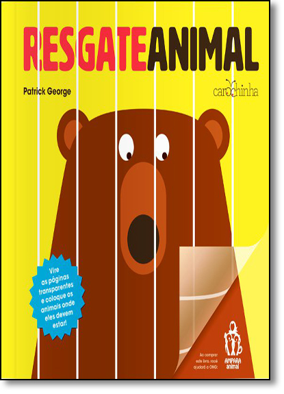 Resgate Animal, livro de Patrick George