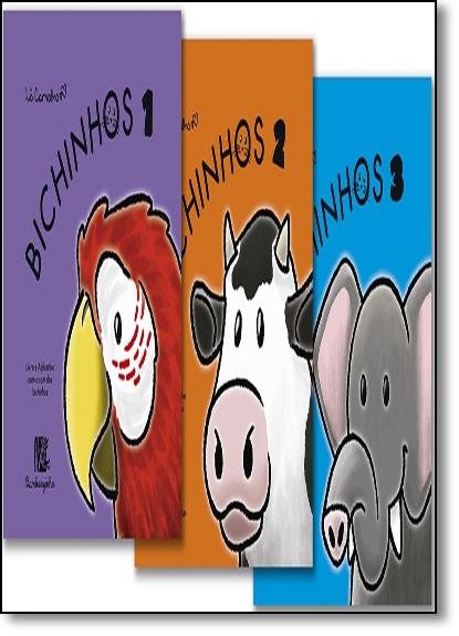 Coleção Bichinhos - 3 Volumes, livro de Lô Carvalho