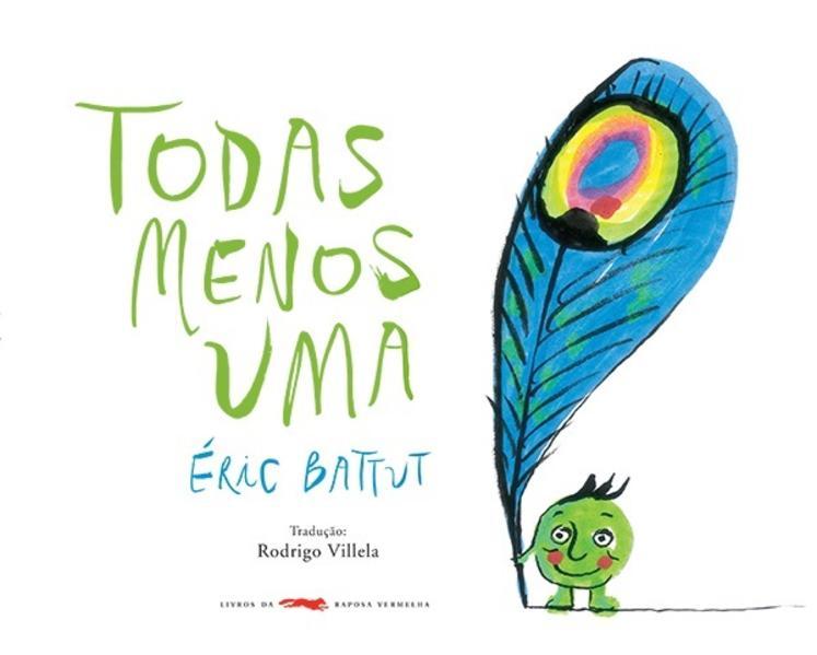 Todas menos uma, livro de Eric Battut, Rodrigo Villela [ilustrações]