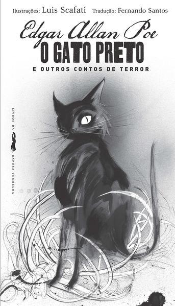 O gato preto e outros contos de terror, livro de Edgar Allan Poe