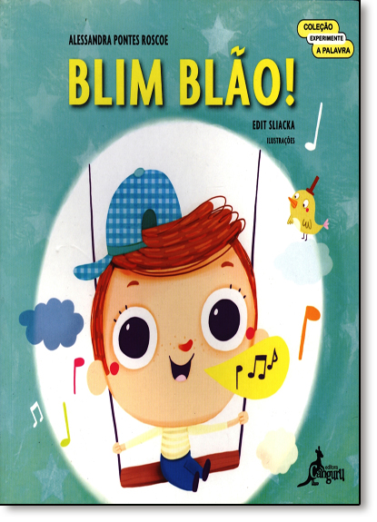 Blim Blão!, livro de Alessandra Pontes Roscoe