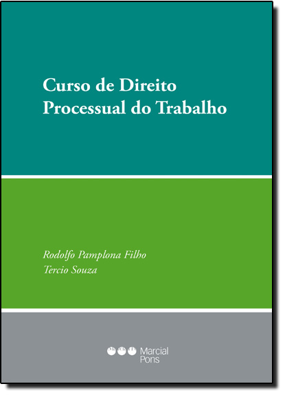 Curso de Direito Processual do Trabalho, livro de Rodolfo Pamplona Filho