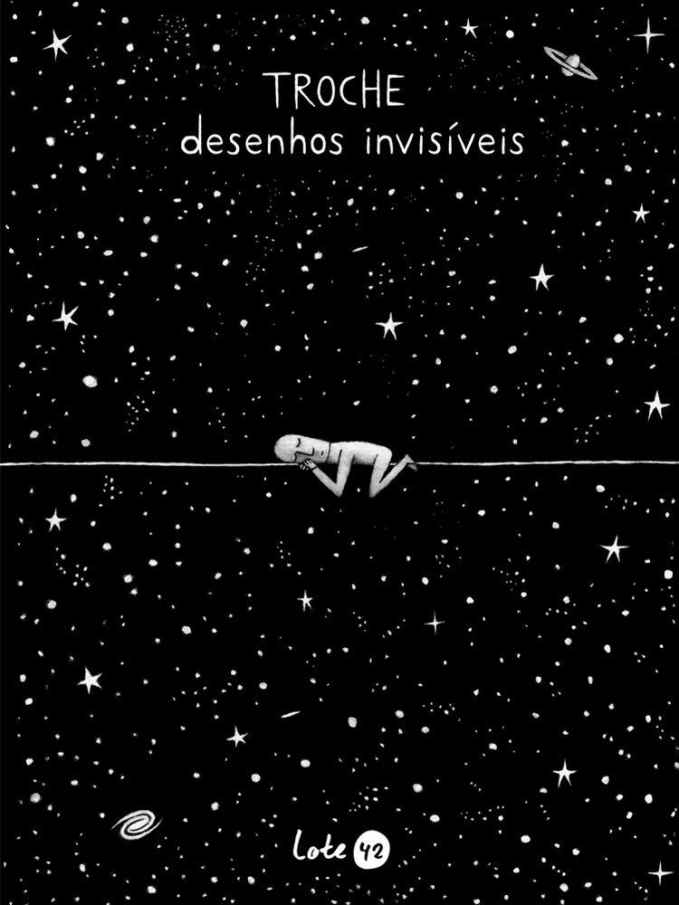 Desenhos Invisíveis, livro de Gervasio Troche
