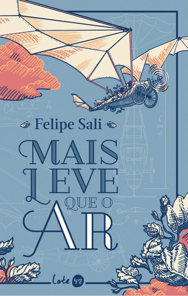 Mais Leve Que o Ar, livro de Felipe Sali