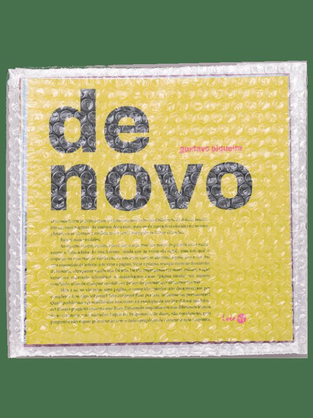De Novo, livro de Gustavo Piqueira