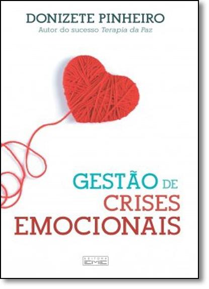 Gestão de Crises Emocionais, livro de Donizete Pinheiro