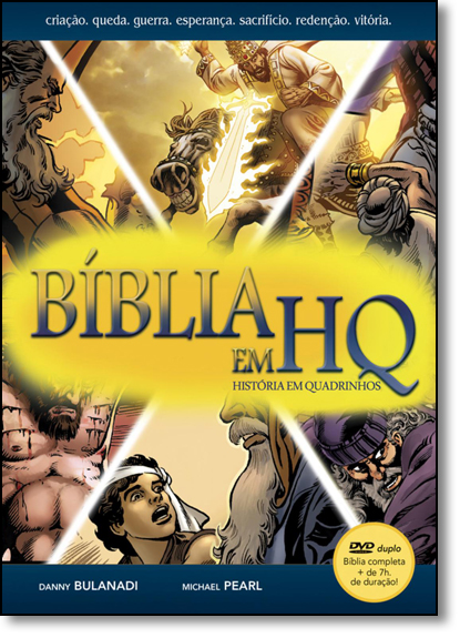 Bíblia em Hq, livro de Michael Pearl