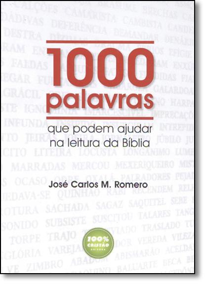 1000 Palavras, livro de Editora 100% Cristão