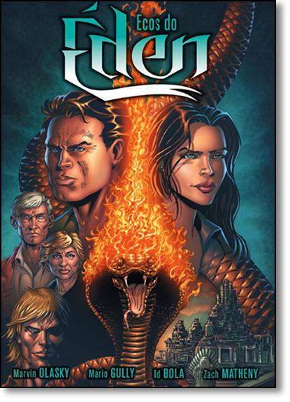 Ecos do Éden - História em Quadrinhos, livro de Mario Gully