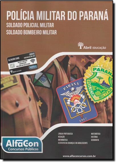Polícia Militar do Paraná, livro de Equipe Alfacon