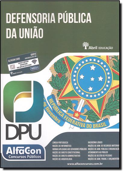 Defensoria Pública da União - Dpu, livro de Equipe Alfacon