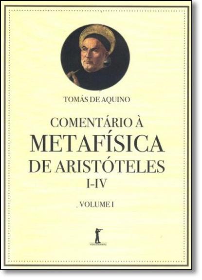 Comentário À Metafísica de Aristóteles - Vol.1, livro de Tomás de Aquino