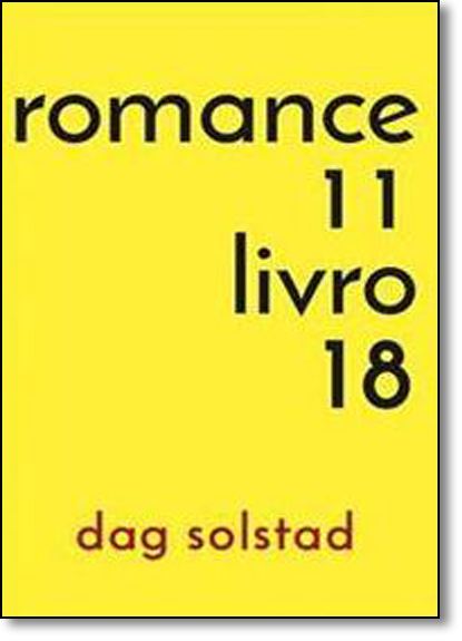 Romance 11, Livro18, livro de Dag Solstad