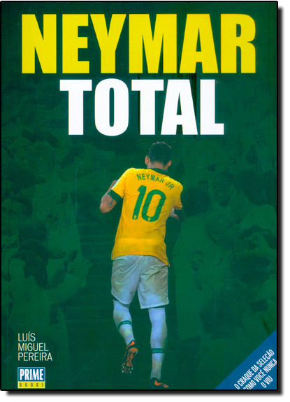 Neymar Total, livro de Luís Miguel Pereira