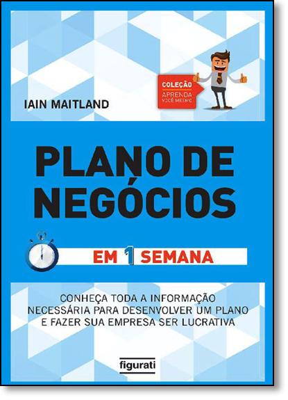 Plano de Negócios, livro de Iain Maitland