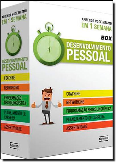 Box Aprenda Você Mesmo em 1 Semana: Desenvolvimento Pessoal, livro de Varios Autores