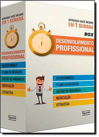 Box Aprenda Você Mesmo em 1 Semana: Desenvolvimento Profissional, livro de Varios Autores