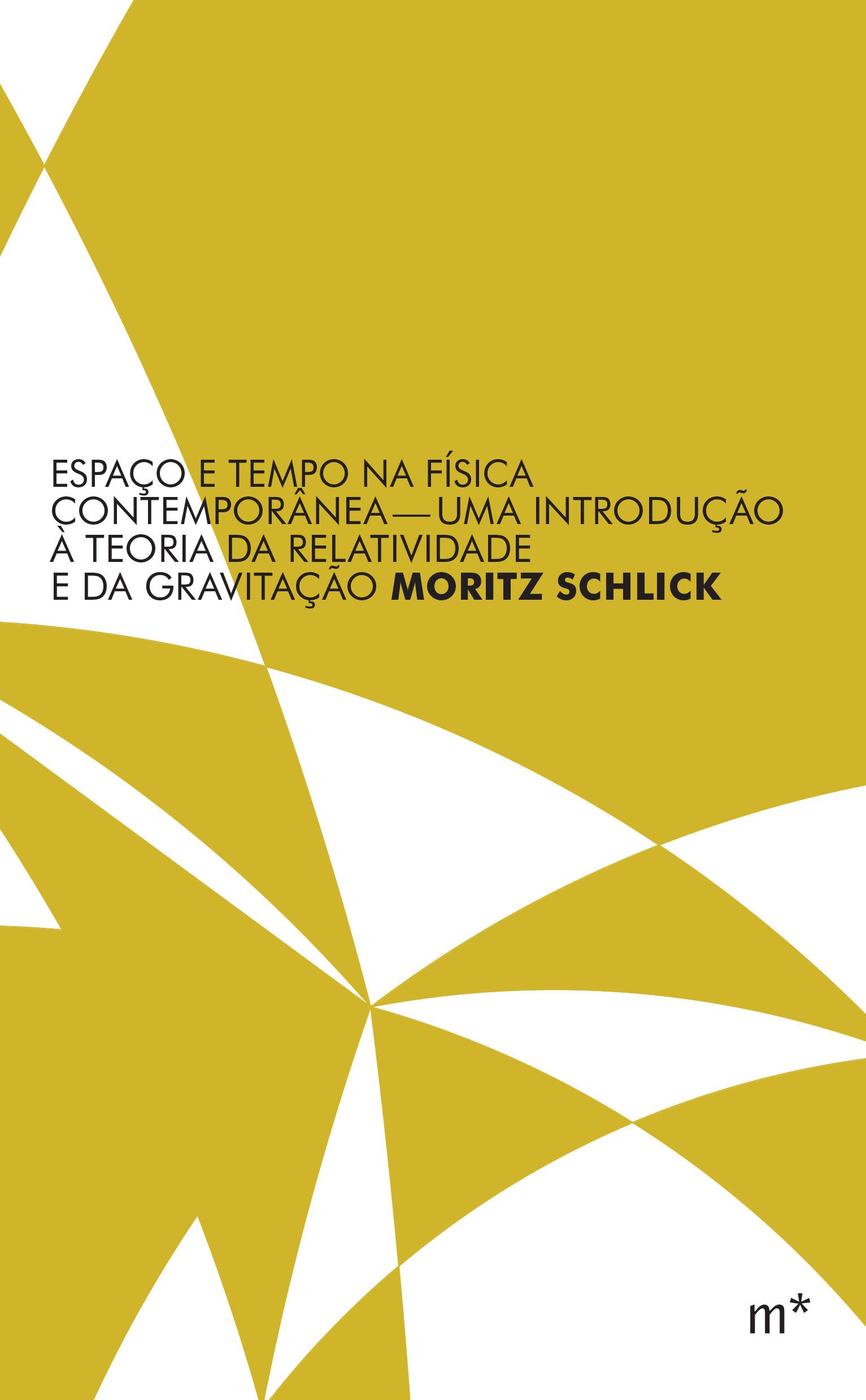 Espaço e tempo na física contemporânea, livro de Moritz Schlick