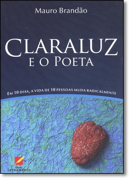 Claraluz e o Poeta, livro de Mauro Brandão