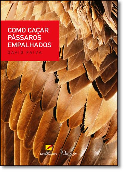 Como Caçar Pássaros Empalhados, livro de David Paiva