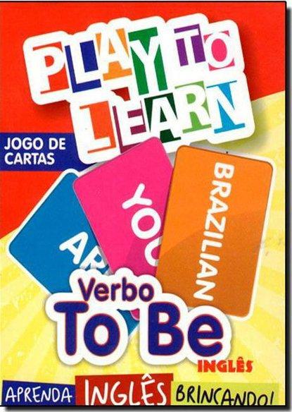 Verbo To Be - Jogo de Cartas - Aprenda Inglês Brincando, livro de Márcia Cristina Carvalho Garcia