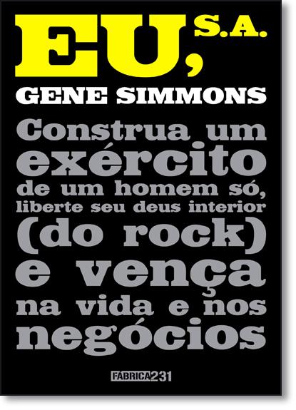 Eu, S. A., livro de Gene Simmons