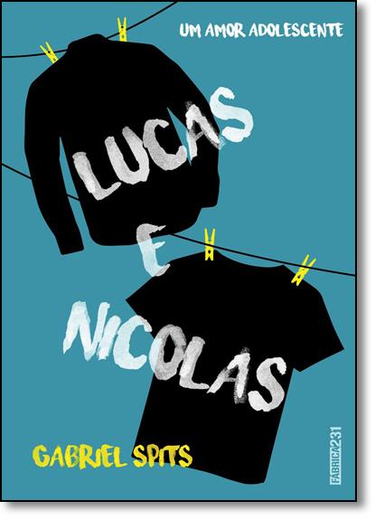 Lucas e Nicolas, livro de Gabriel Sptis