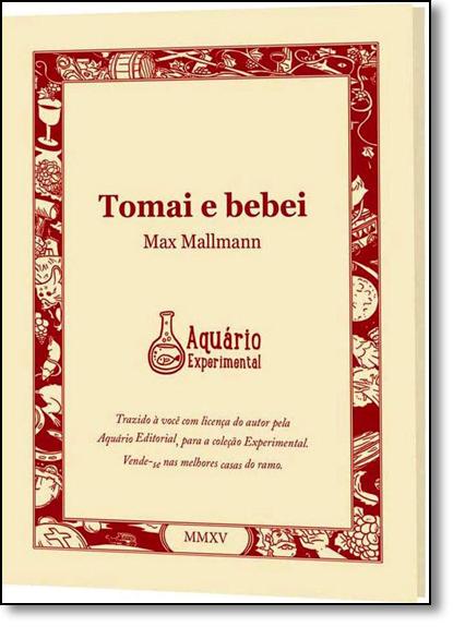 Tomai e Bebei - Coleção Aquário Experimental, livro de Max Mallmann
