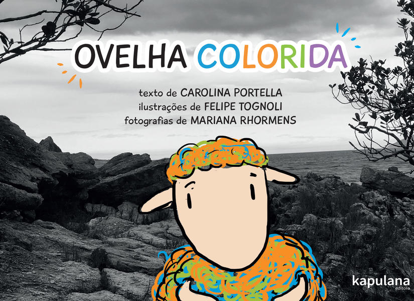 Ovelha colorida, livro de Carolina Portella