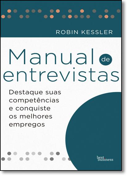 Manual de Entrevistas, livro de Robin Kessler