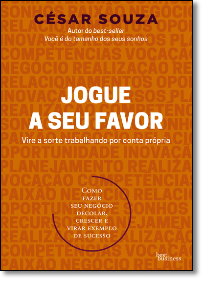 Jogue a seu Favor, livro de César Souza