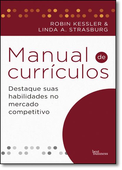 Manual de Currículos, livro de Robin Kessler