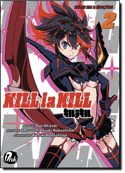 Kill la Kill - Vol.2, livro de Ryo Akizuki