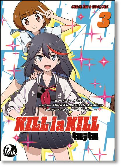 Kill la Kill - Vol.3, livro de Ryo Akizuki