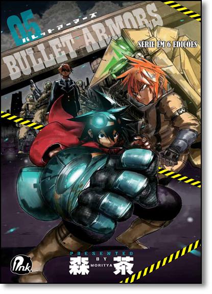 Bullet Armors - Vol.5, livro de Moritya