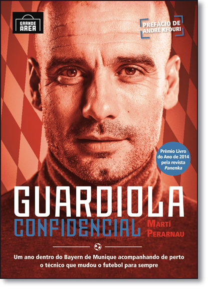 Guardiola Confidencial, livro de Martí Perarnau