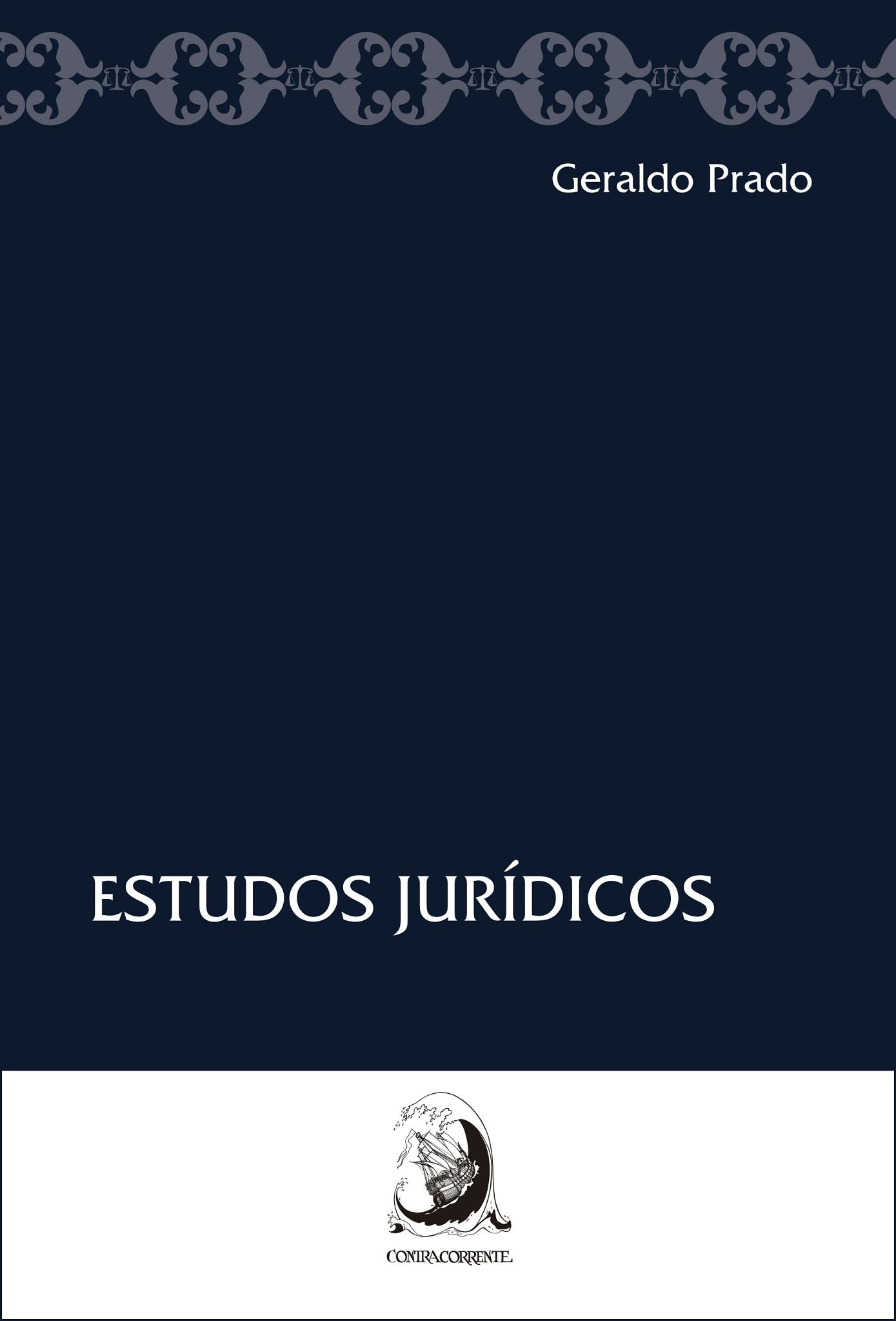 Estudos jurídicos, livro de Geraldo Prado