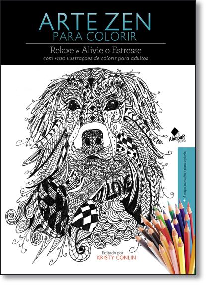 Arte Zen: Para Colorir, livro de Kristy Conlin