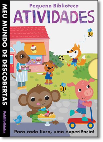 Pequena Biblioteca: Atividades - Coleção Meu Mundo de Descobertas, livro de Little Tiger Press