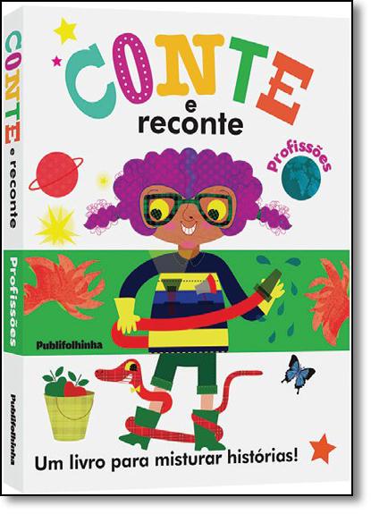 Conte e Reconte: Profissões, livro de Frankie Jones