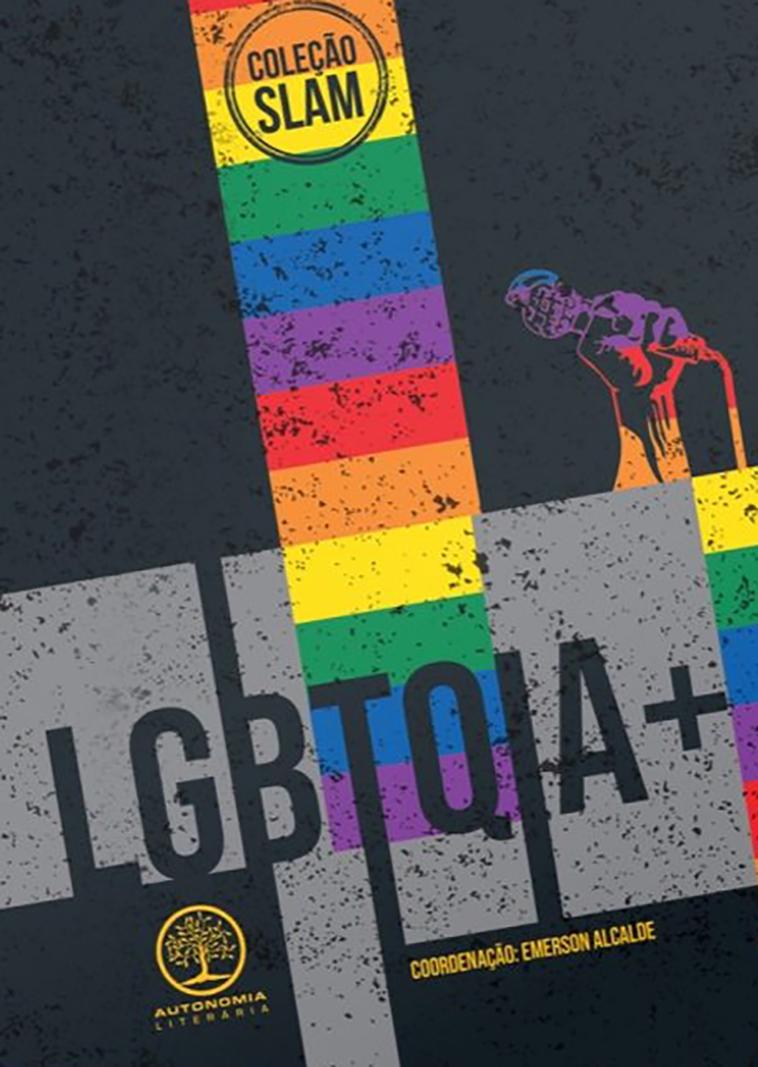 Slam - LGBTQIA+, livro de Emerson Alcalde (org.)