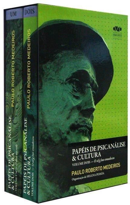 Papéis de psicanálise & cultura, livro de Paulo Roberto Medeiros